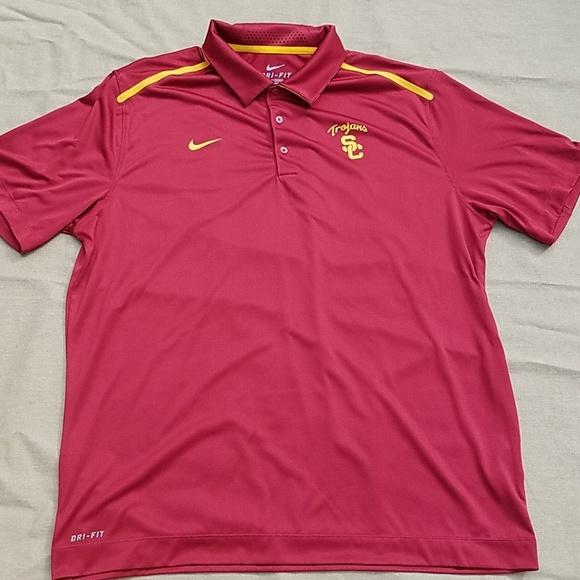 3b55e6f0 Nike Shirts | Drifit Usc Trojans Mens Shirt | Poshmark